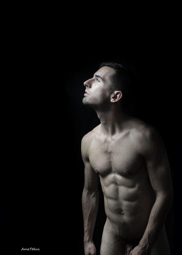 awakening artistic nude photo by model coma12