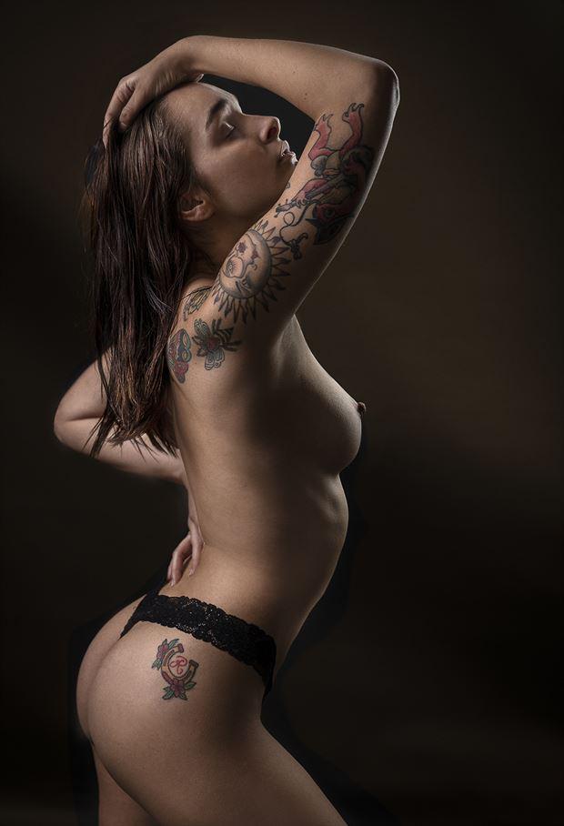 ayeonna artistic nude photo by photographer dieter kaupp