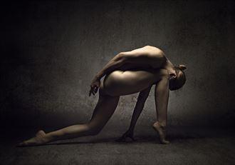 ayla artistic nude photo by photographer richard byrne