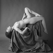 portrait reclining Nude