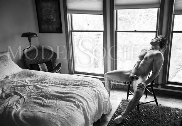 bachelor pad artistic nude photo by photographer michael grace martin