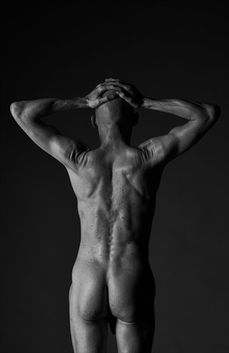 back Artistic Nude Photo by Model Lars