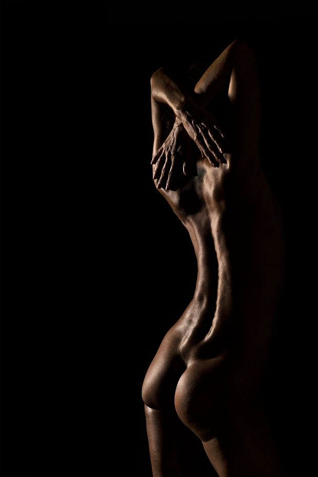 back artistic nude photo by photographer bill cole