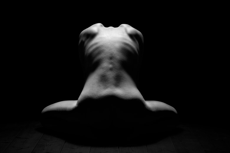back artistic nude photo by photographer nicolas
