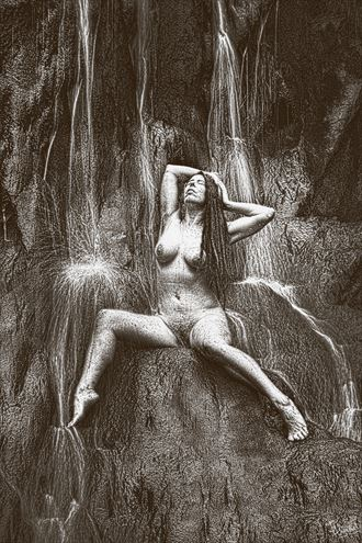 back burner artistic nude photo by photographer photorunner