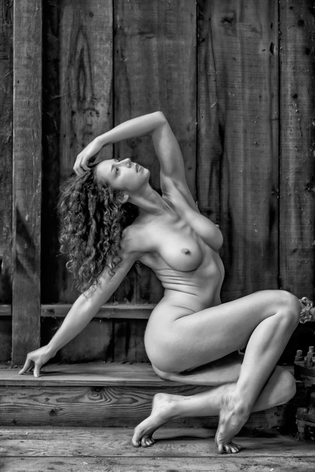 back in the workshop artistic nude photo by photographer philip turner