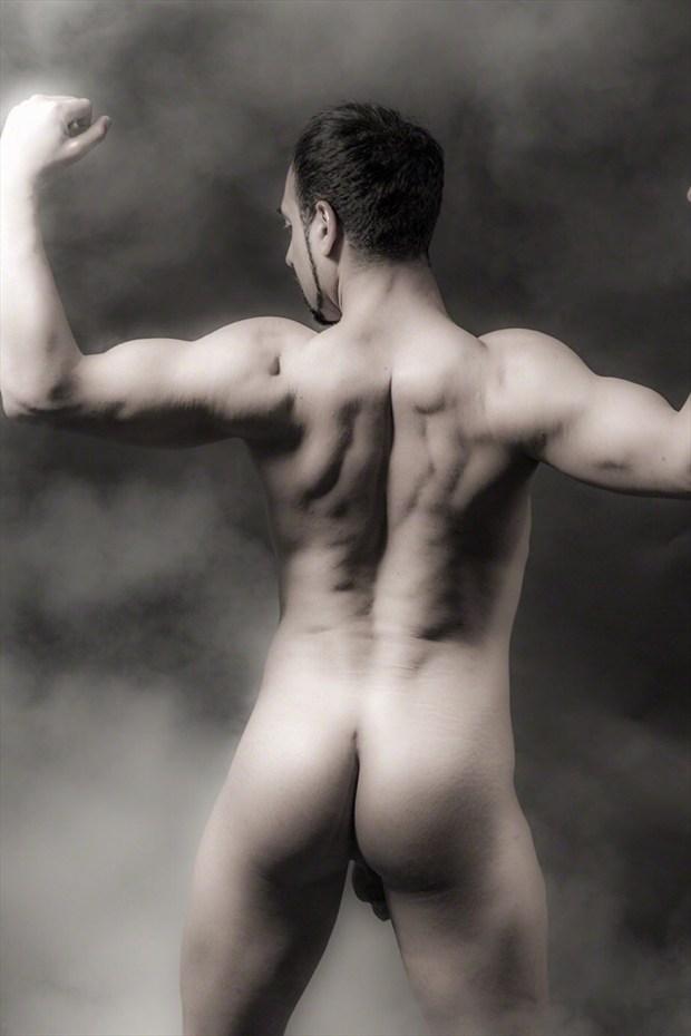 back muscles  Artistic Nude Photo by Model Arash Sharifi