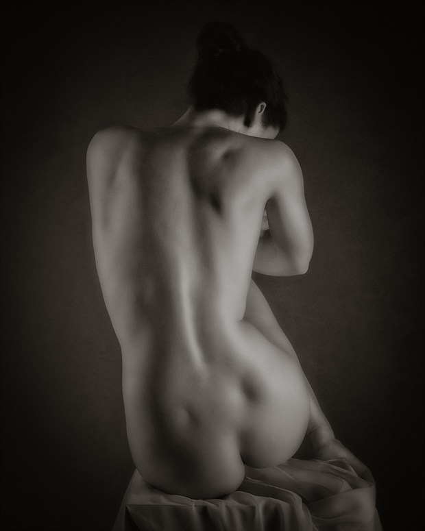 back study 2 artistic nude photo by photographer vincent isner