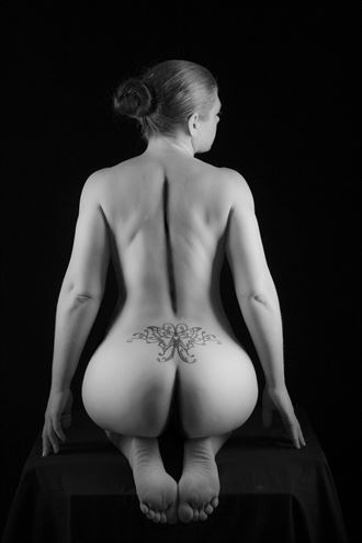 back to basics artistic nude photo by photographer andre