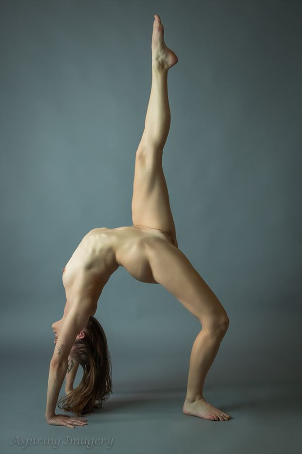 backbend with point artistic nude photo by photographer aspiring imagery