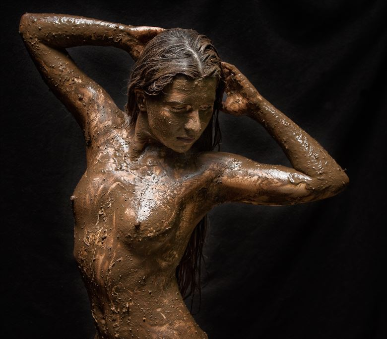 bad hair day artistic nude photo by photographer rick jolson