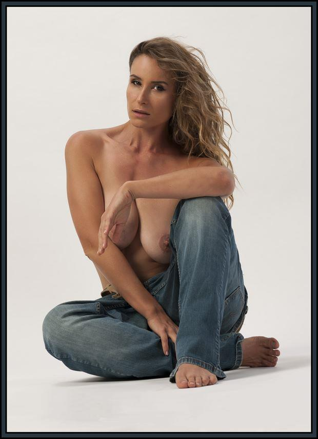 bagging jeans artistic nude photo by photographer tommy 2 s