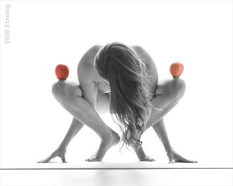 balance artistic nude photo by model miss missy