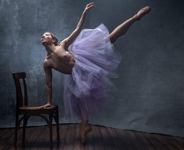 ballerina 14 artistic nude photo by photographer evan
