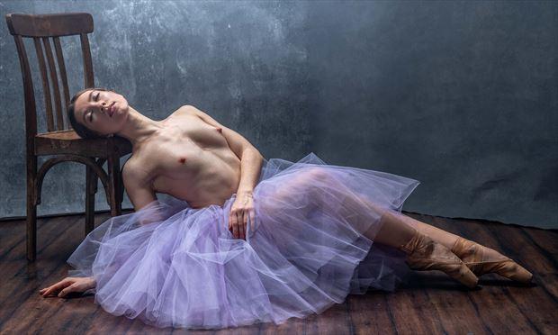ballerina 5 artistic nude photo by photographer evan