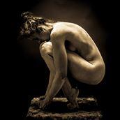ballet dancer artistic nude artwork by photographer fine art photics
