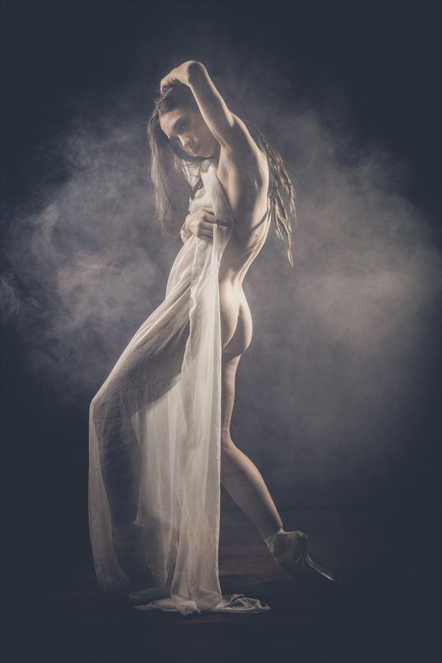 ballet girl artistic nude artwork by photographer jens schmidt
