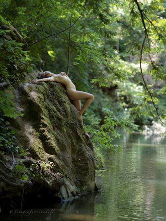 bambii at boulder creek artistic nude photo by photographer fotografie randall