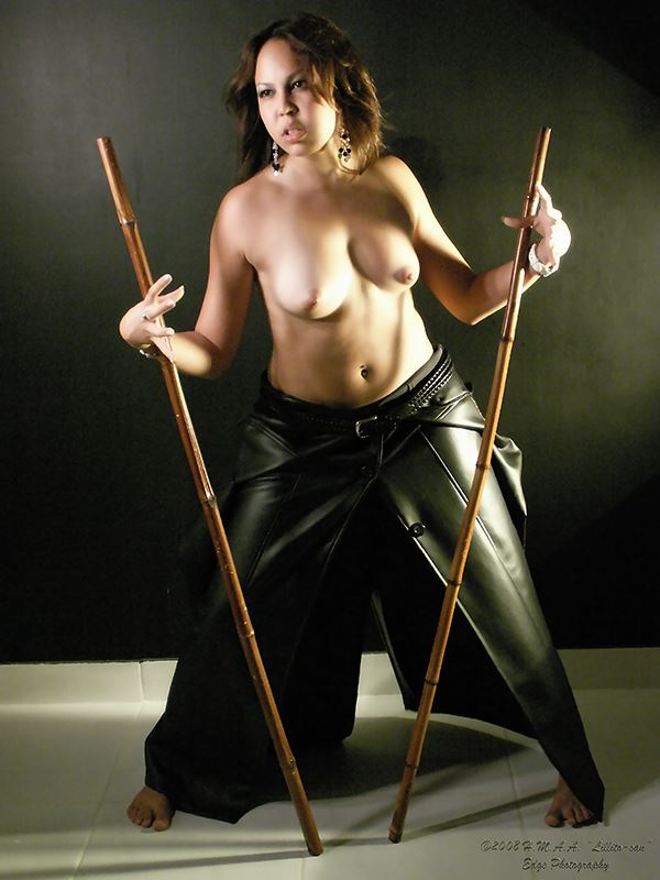bamboo sticks artistic nude photo by photographer lillito san_ep