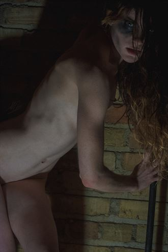 basement pixie artistic nude photo by artist todd f jerde