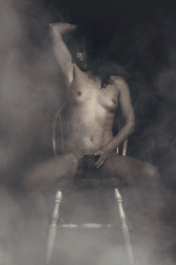 bathed in dreams pigeon artistic nude photo by photographer porcelain images