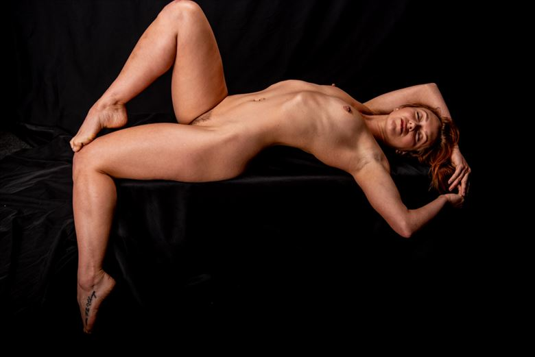 bathed in light artistic nude photo by photographer kaneshots