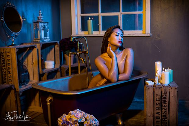 bathroom 3 artistic nude photo by photographer finephotoarts