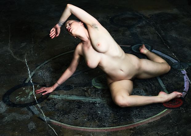 be careful what you summon artistic nude photo by photographer teb art photo