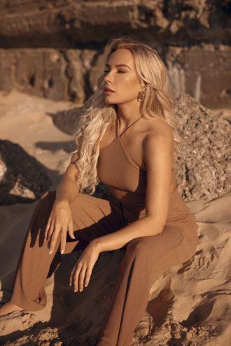 beach fashion alternative model photo by model reelika bergman