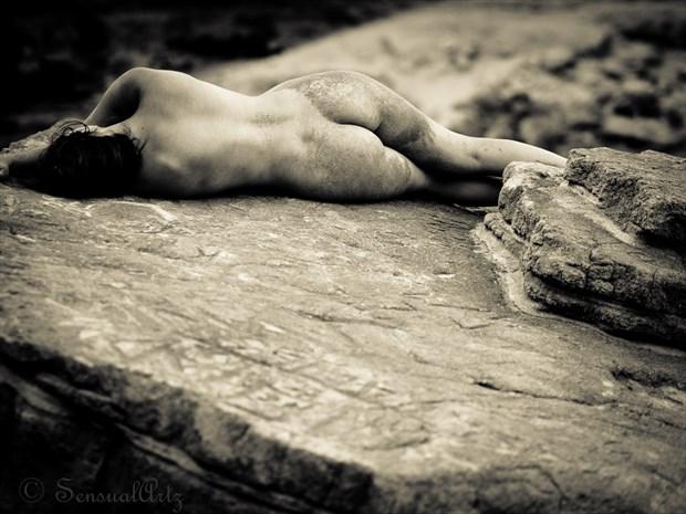 beach napping Artistic Nude Photo by Photographer Sensual Artz