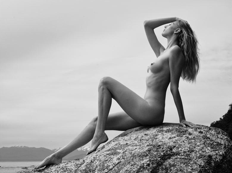 beach sun artistic nude photo by photographer mike 256