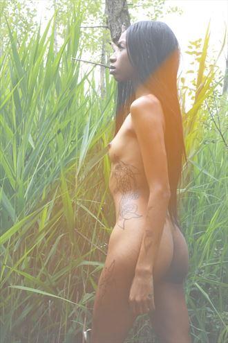 beams artistic nude photo by model thenudealien