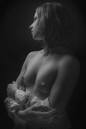 beautiful pewter artistic nude photo by photographer halflight