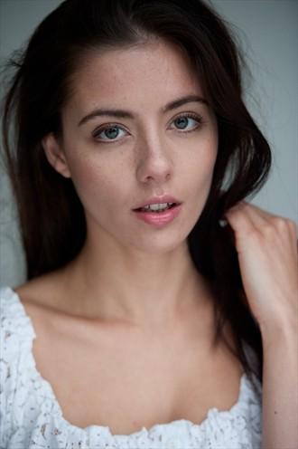 beauty headshot Close Up Photo by Model scarlet model