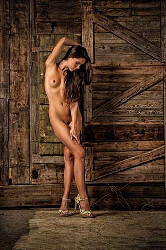 beauty in the barn artistic nude photo by photographer jonathan c