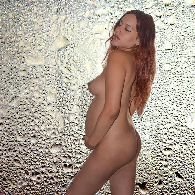 beauty of motherhood artistic nude photo by photographer tj