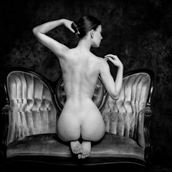 beauty on film artistic nude photo by photographer philip turner