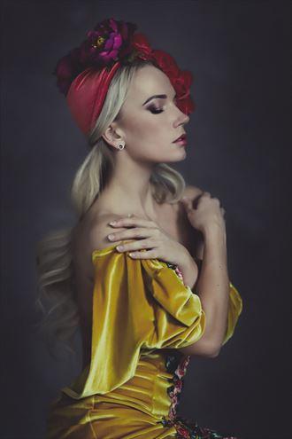 beauty photoshoot alternative model photo by model reelika bergman