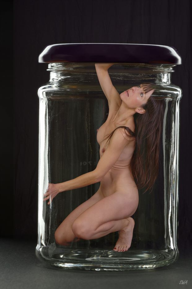 beauty trapped artistic nude photo by photographer swaphoto