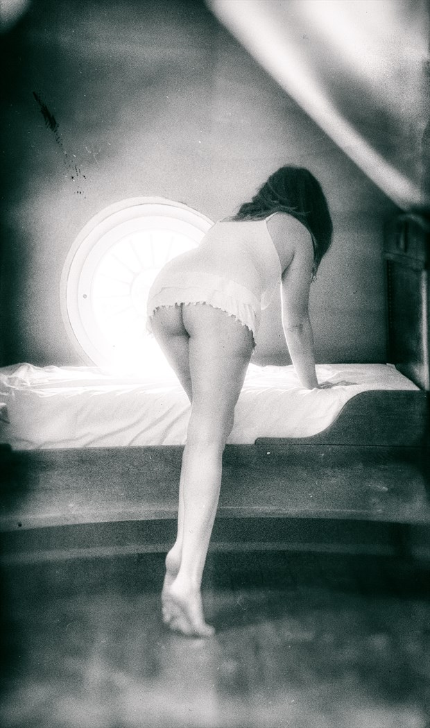 bed in the attic Artistic Nude Photo by Photographer BenGunn