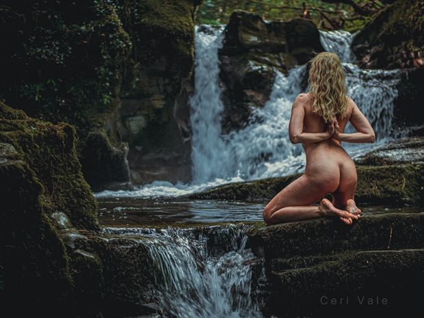 before the fall artistic nude photo by model selkie