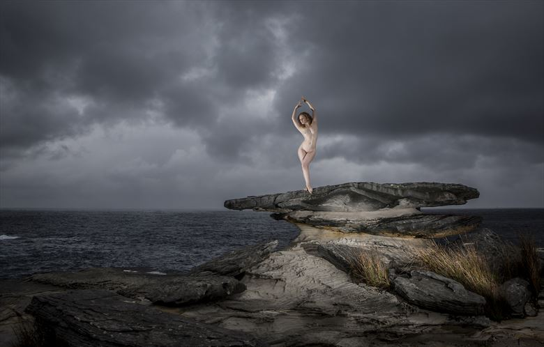 before the storm artistic nude photo by photographer tim bradshaw