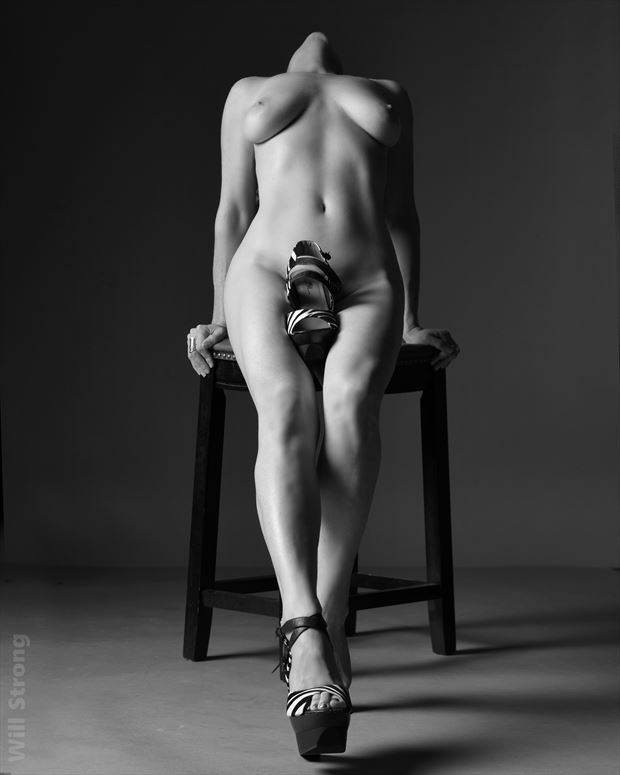 bella ray fire in studio artistic nude photo by photographer yb2normal