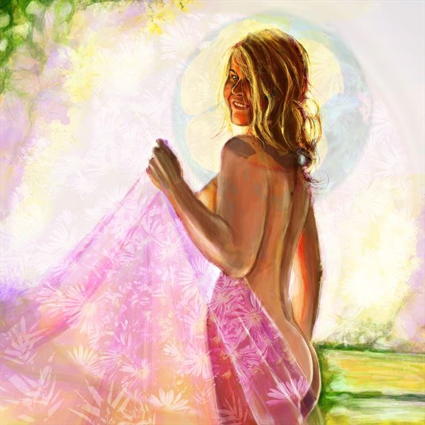 bellina 6 surreal artwork by artist nick kozis