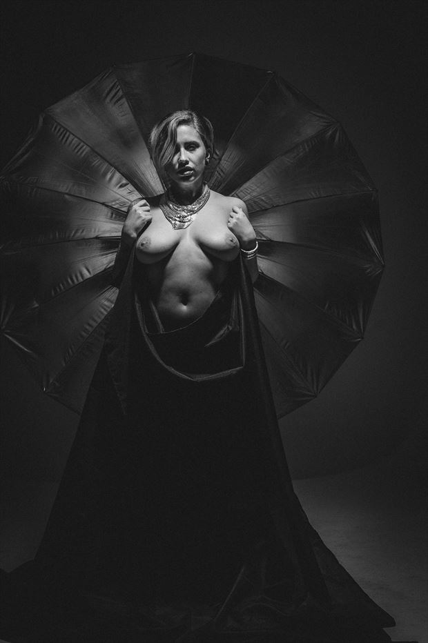 benny draping sheet artistic nude photo by photographer mannyoquendo