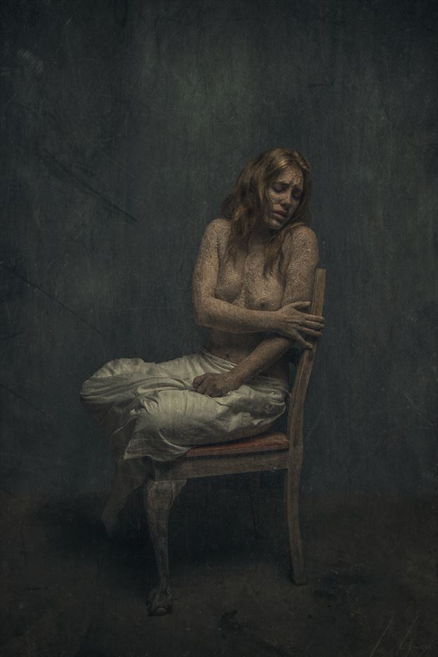 bereavement artistic nude photo by photographer luj%C3%A9an burger