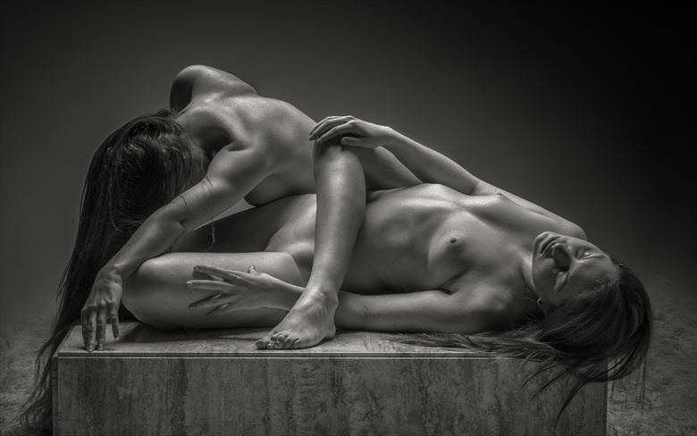 best foot forward artistic nude photo by photographer rick jolson