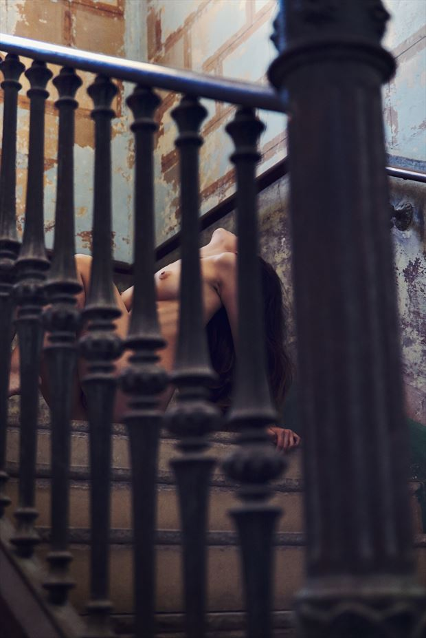 between bars artistic nude photo by photographer germansc