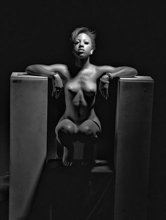 between two world artistic nude photo by photographer apb photo studio
