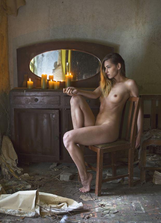 beyond reach artistic nude photo by photographer douglas ross